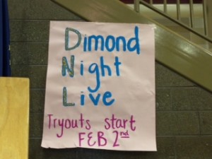 Tryouts for Dimond Night Live, a Dimond end-of-the-year tradition, will begin Feb. 2.