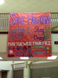 Sadie Hawkins is final activity of Spirit Olympics week.