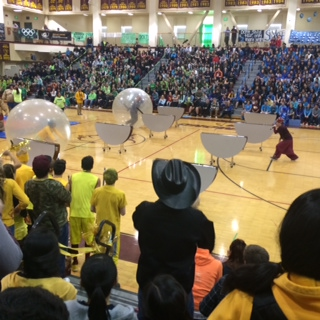 School spirit was everywhere as Dimond students took part in a 70-minute Spirit Olympics assembly capping off a week of spirit-building activities led by Student Government.
