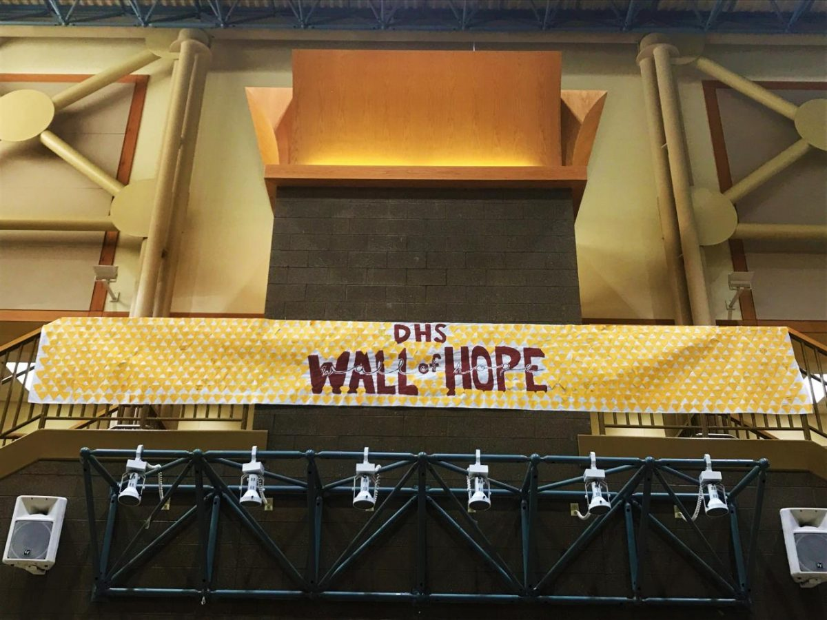 Wall of Hope Focuses on the Positive