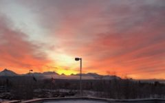 Spring Sunrise Over the Chugach