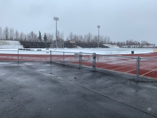 Dimond Deals With Late Snow